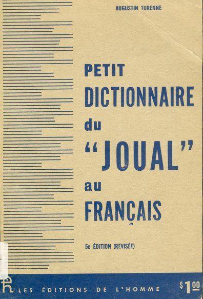 Petit Dictionnaire du Joual