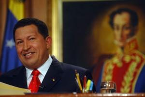 Chávez and Bolívar
