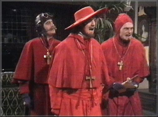 The Spanish Inquisition, Monty Python Style