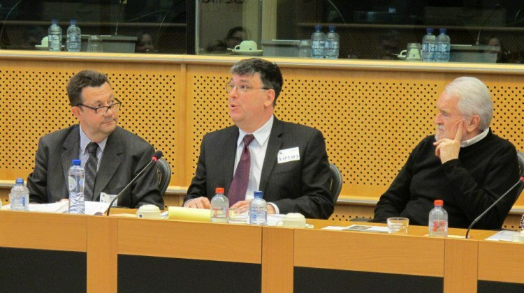 Jean-Benoit au parlement Europeen a bruxelles
