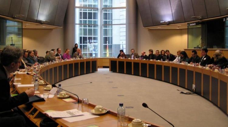 Jean-Benoit au parlement Europeen a bruxelles4
