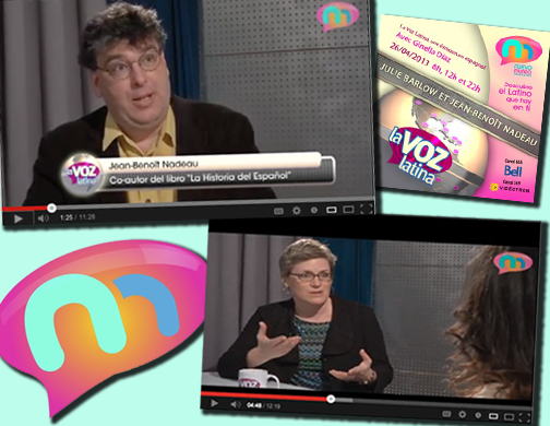 Image of La Voz Interview with Jean-Benoit Nadeau and Julie Barlow