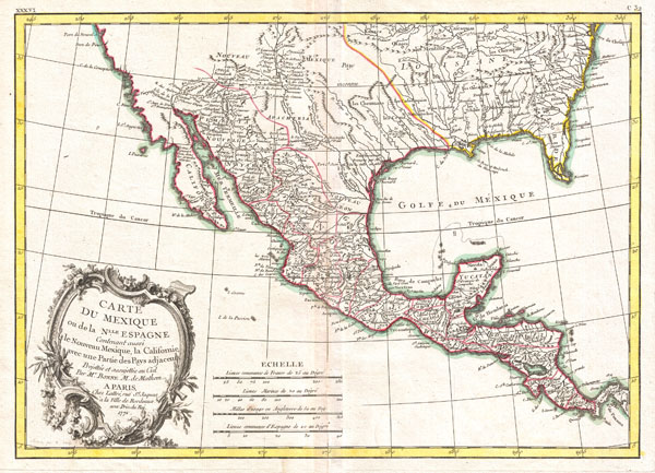 Mexique 1771