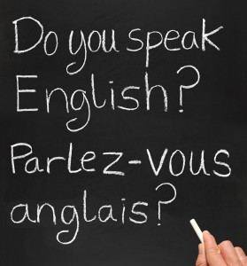 Les Français et l'anglais