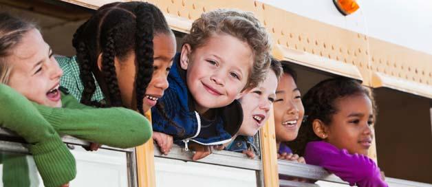 Enfants à la rentrée