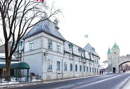 Le Cercle de la Garnison, à Québec.