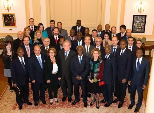 Le Conseil pour la promotion de la Francophonie au Japon. Source: BRAP / OIF