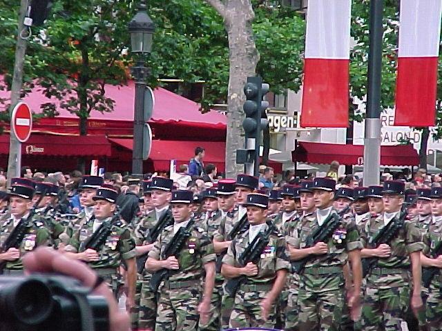 Un 14-juillet en France. Photo de l'auteur.