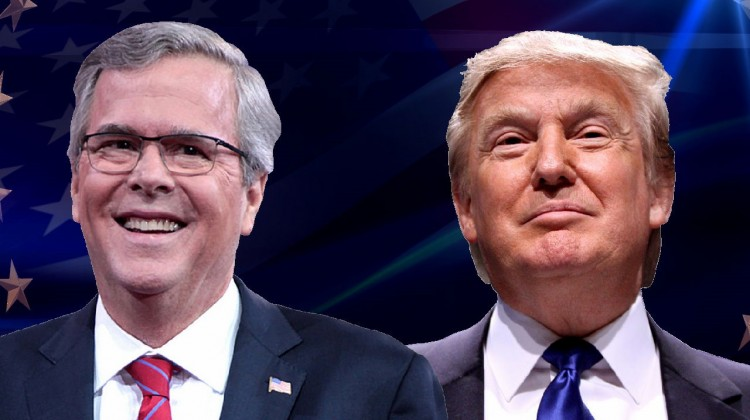 Jeb Bush et Donald