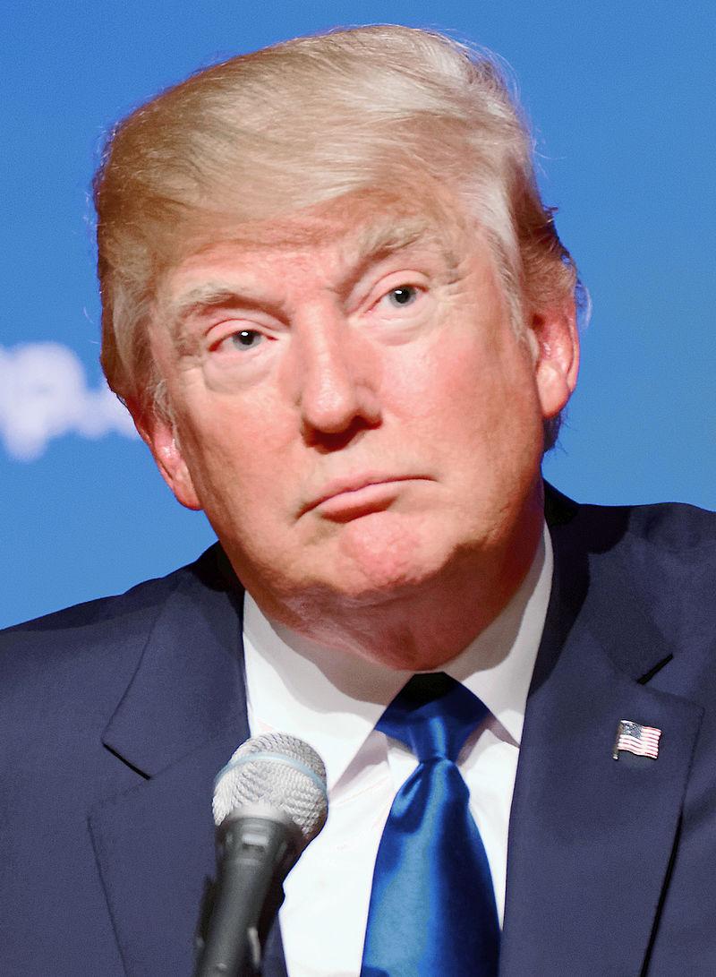 Le bouffon sinistre mène toujours dans l'investiture républicaine. Photo: Michael Vadon CC 2.0