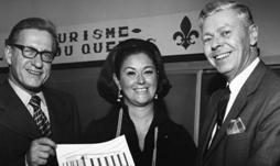 Claire Kirkland-Casgrain, en 1971, alors ministre du Tourisme. Photo: ITHQ